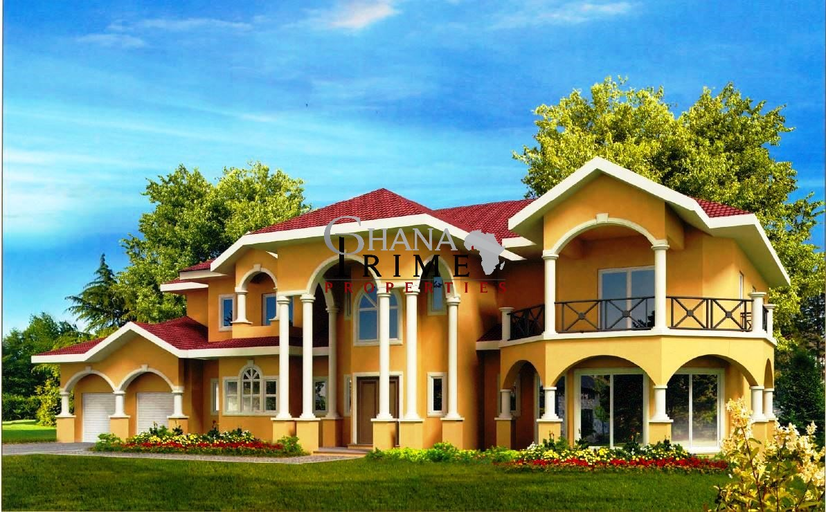 Bedroomluxuryhouseforsaleintrasaccovalley - Ghana luxury homes