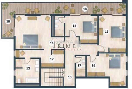 Luxury 4 bedroom apartment for sale in cantonments 2 for Apartment plans in ghana